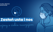 Maseczki-plakat informacyjny